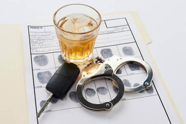 dealing with a DUI arcadia